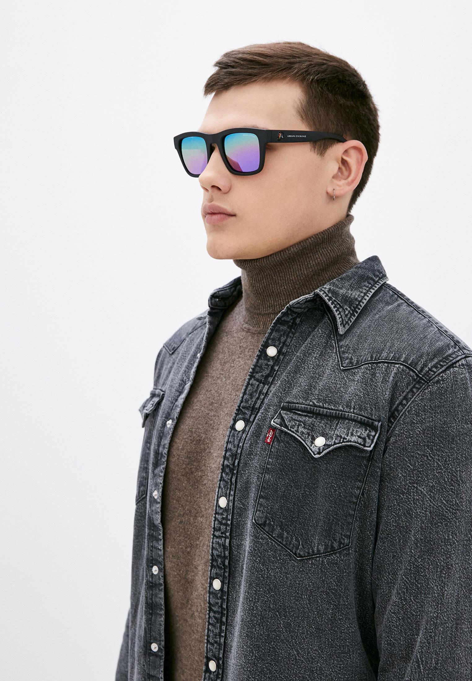 Мужские солнцезащитные очки Armani Exchange 0AX4088S: изображение 6