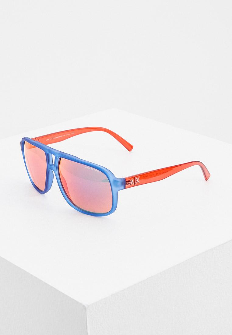 Мужские солнцезащитные очки Armani Exchange 0AX4104S