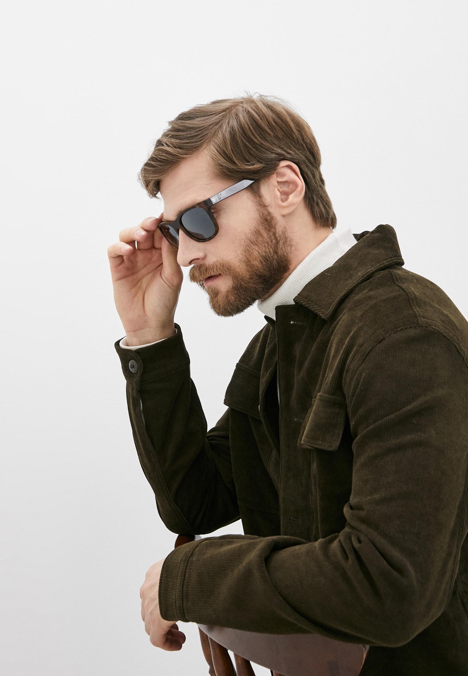 Мужские солнцезащитные очки Armani Exchange 0AX4103S: изображение 6