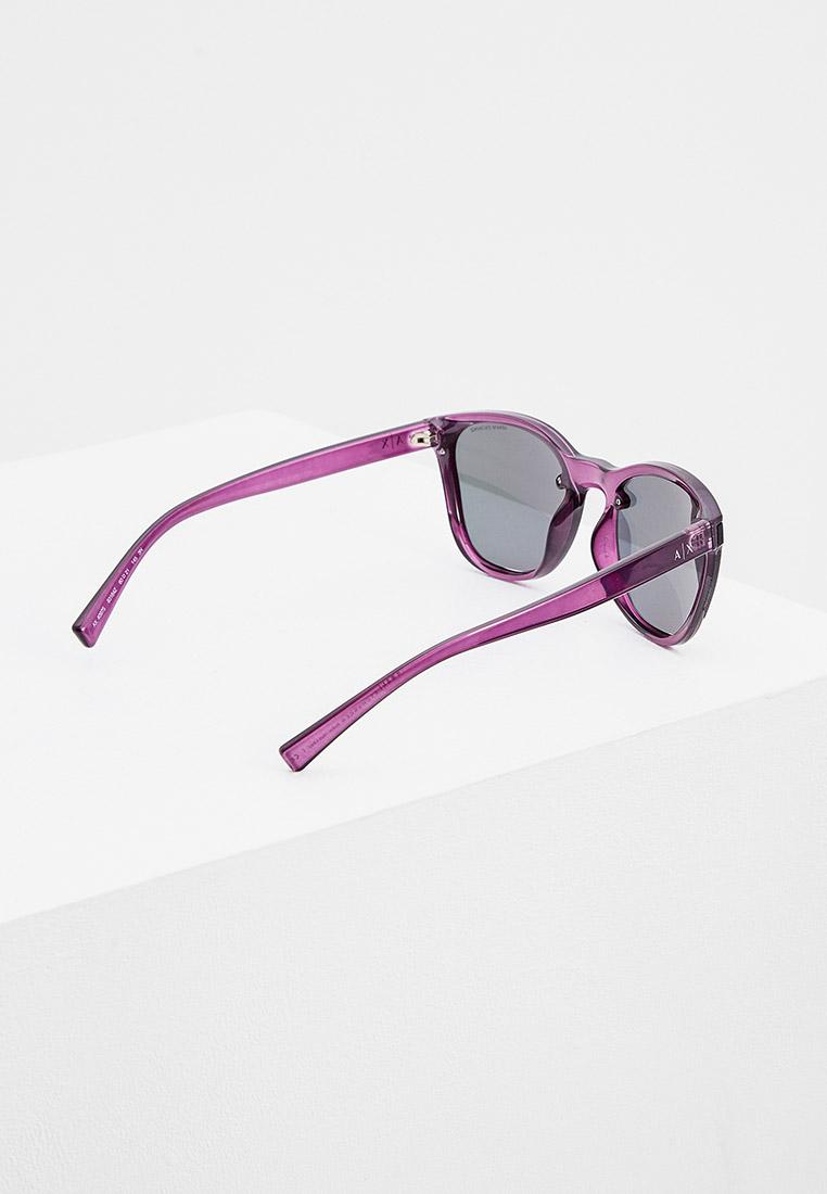 Женские солнцезащитные очки Armani Exchange 0AX4097S: изображение 3