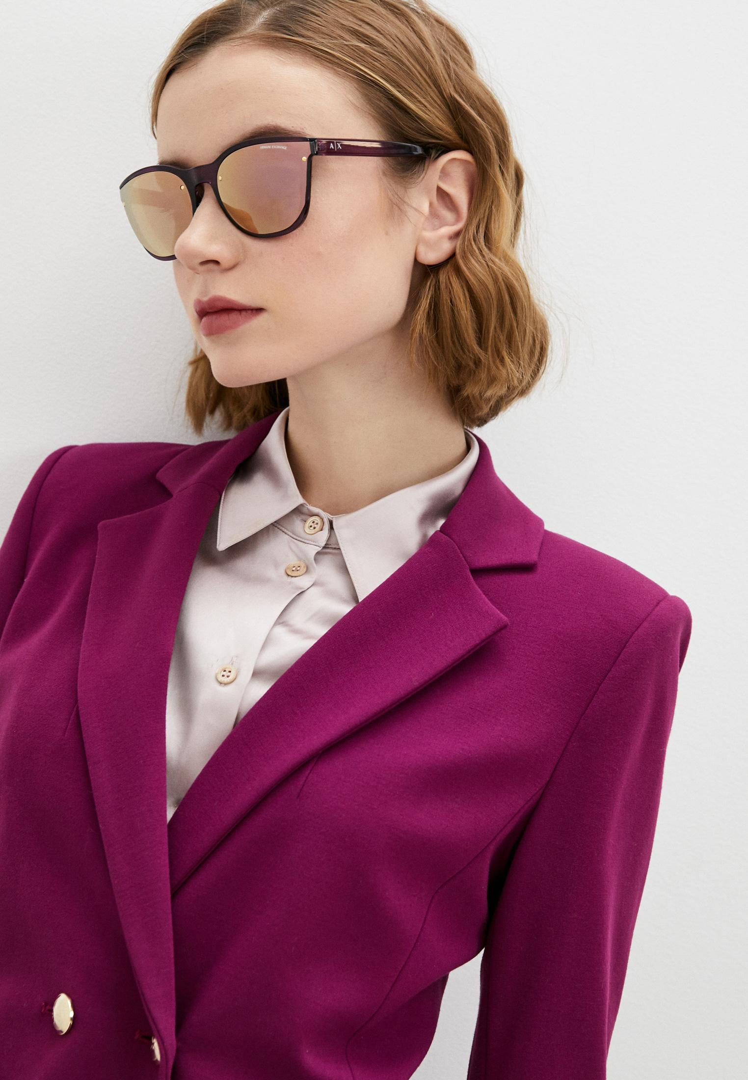 Женские солнцезащитные очки Armani Exchange 0AX4097S: изображение 6