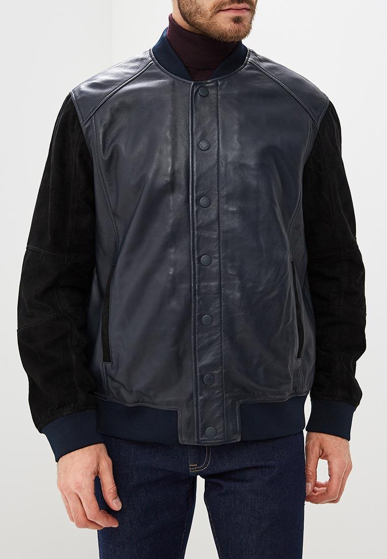 Кожаная куртка Armani Exchange 6zzb21 ZL01Z