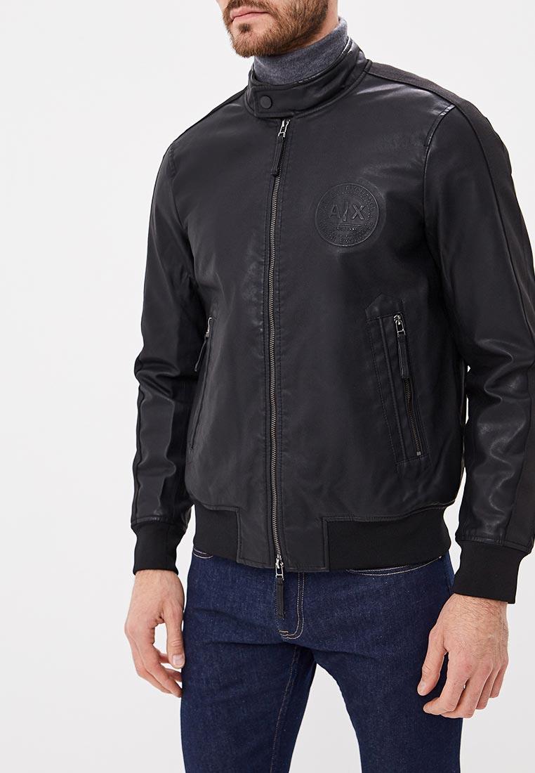 Кожаная куртка Armani Exchange 6zzb32 ZNCVZ