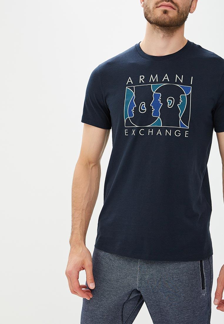 Футболка Armani Exchange 6zztaq ZJA5Z
