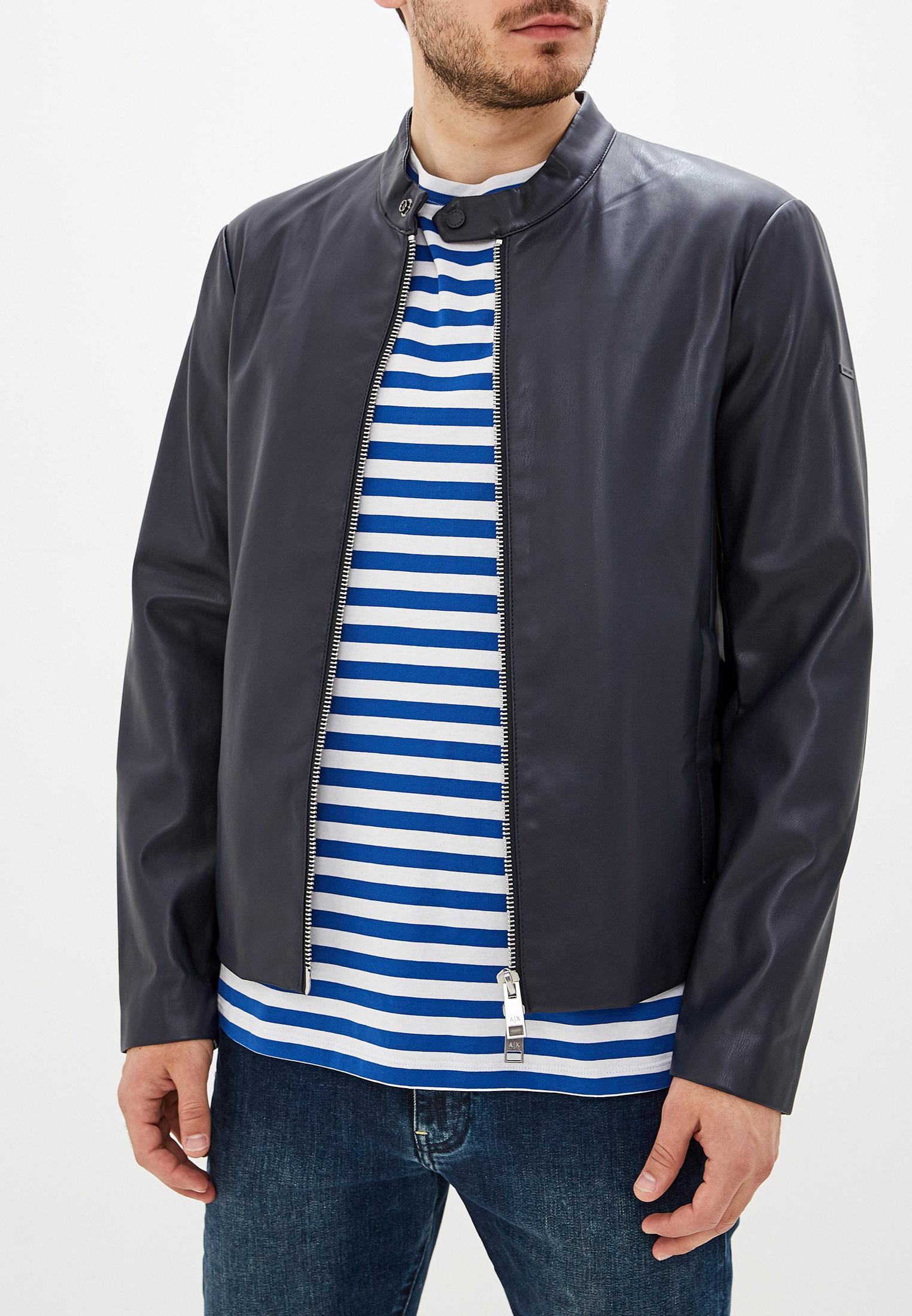 Кожаная куртка Armani Exchange 8nzb08 ZNAAZ