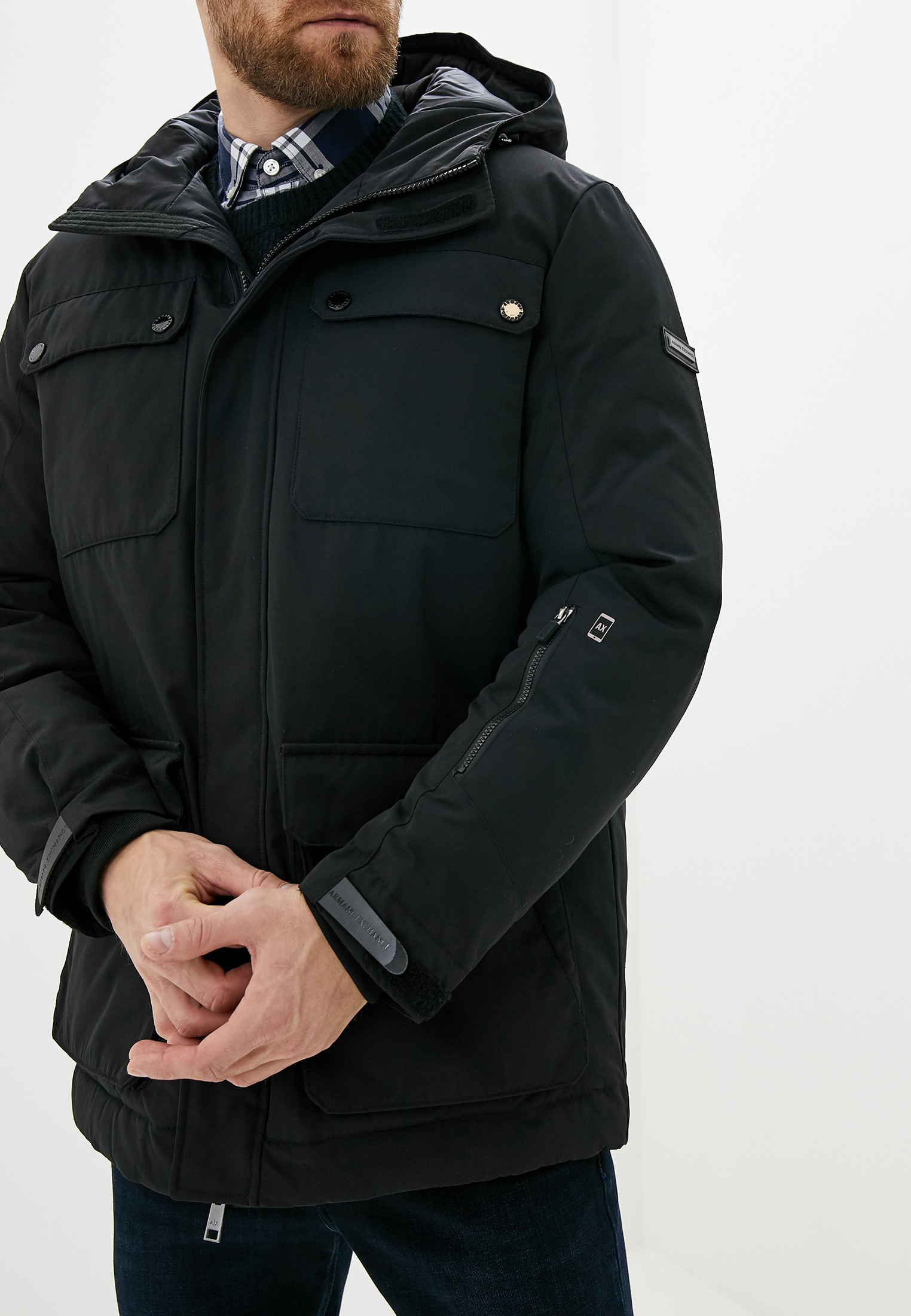 Утепленная куртка Armani Exchange 6gzk01 ZNPAZ