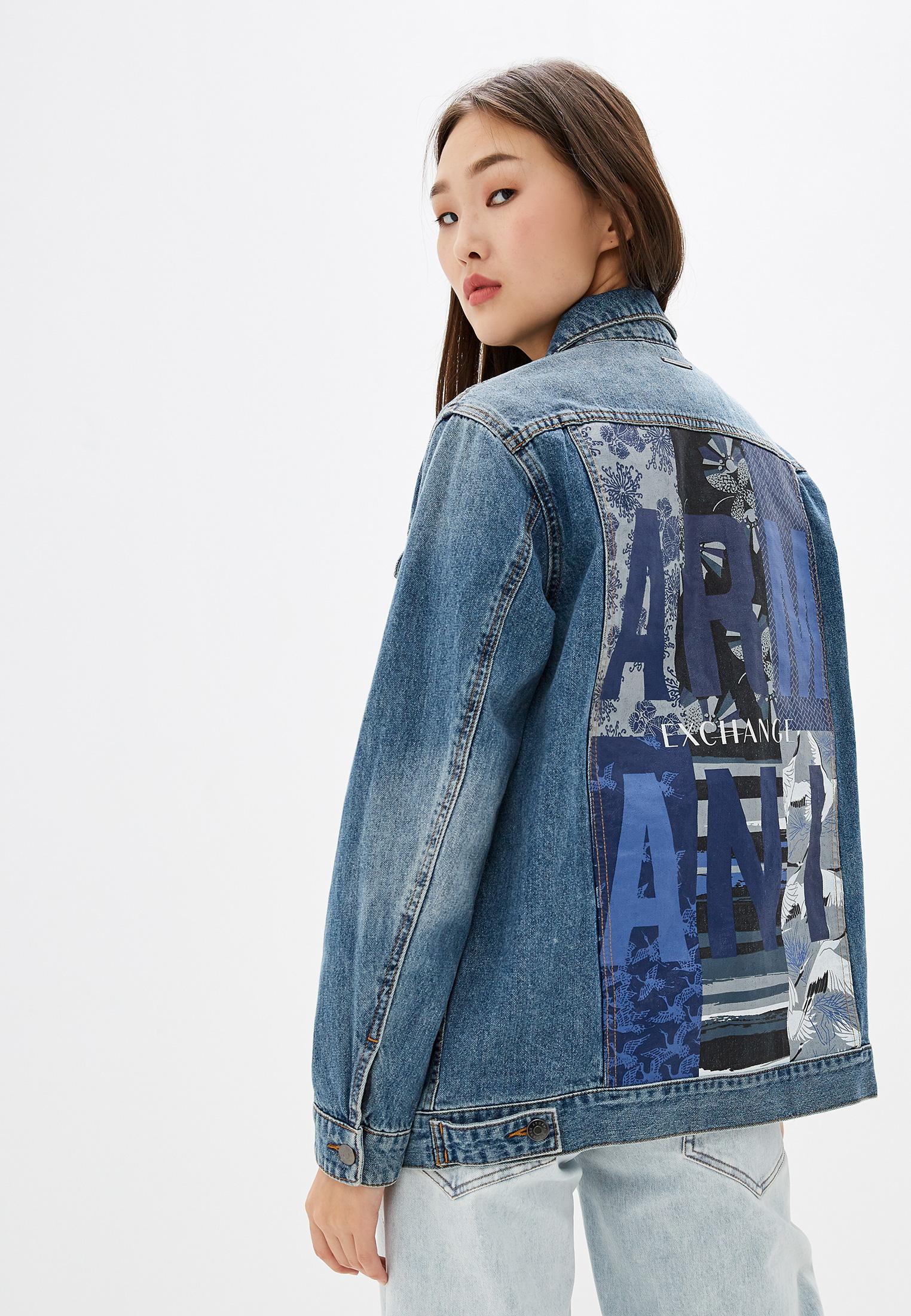 Джинсовая куртка Armani Exchange 6GYB69 Y2HNZ
