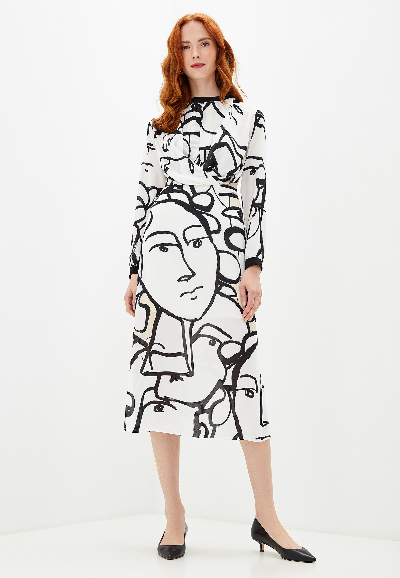 Повседневное платье Armani Exchange 6GYA05 YND4Z