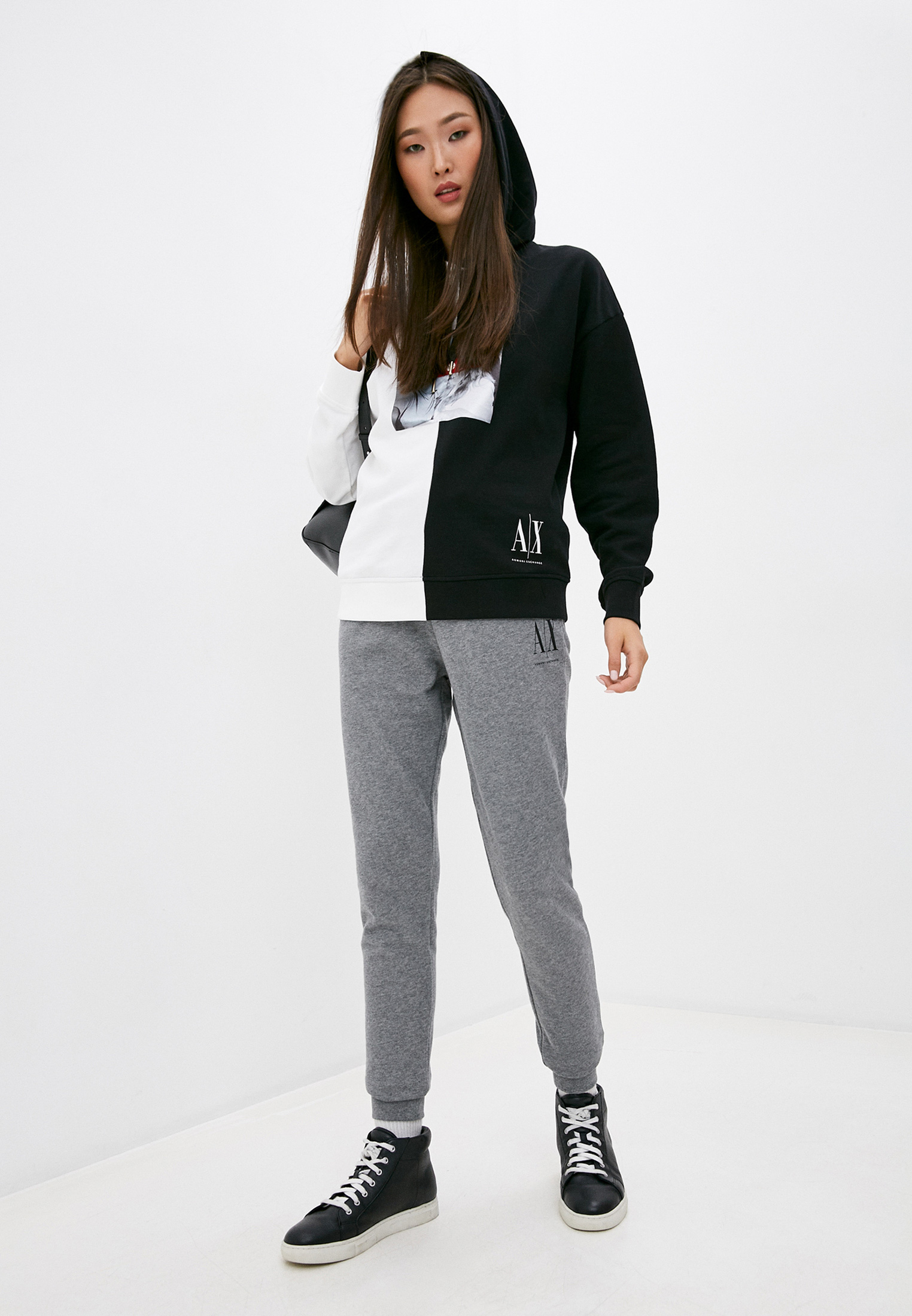 Женские спортивные брюки Armani Exchange 6HYP77 YJP1Z: изображение 3