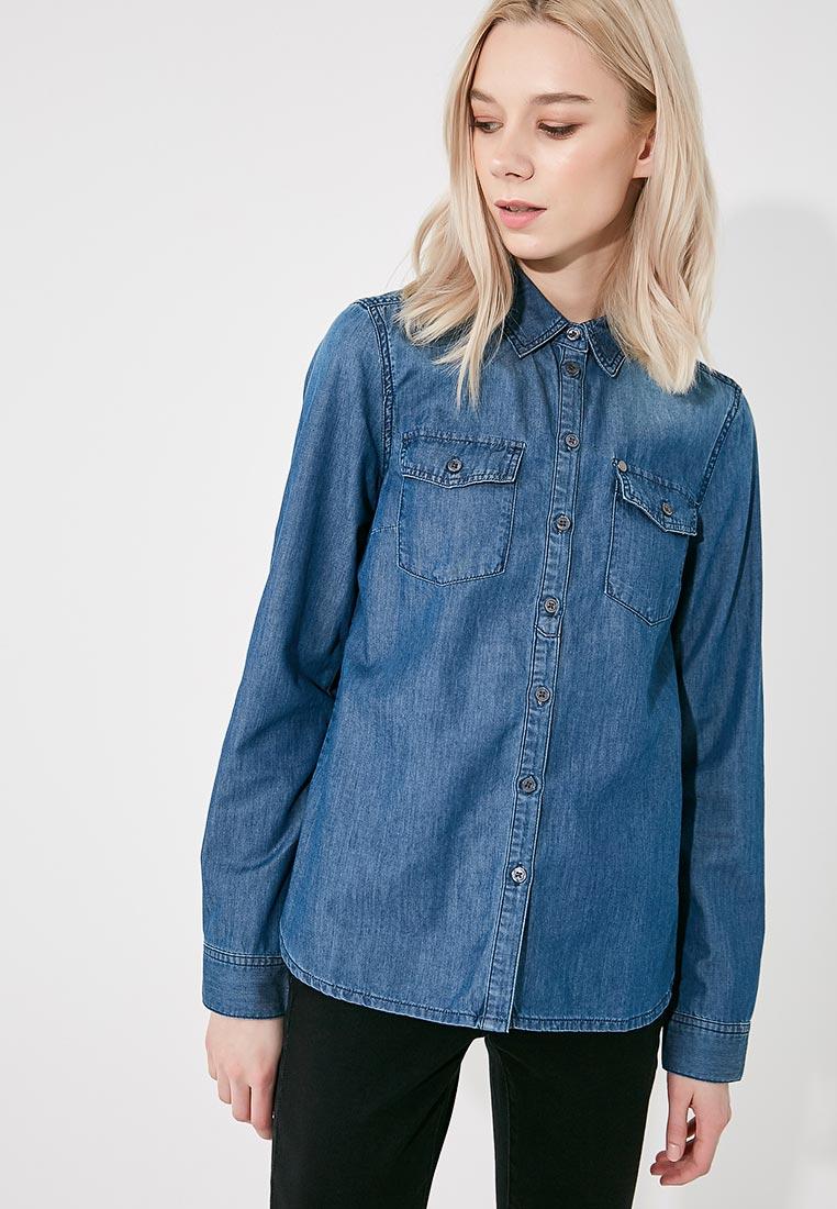 Женские джинсовые рубашки Armani Exchange 8NYC03 Y1AKZ