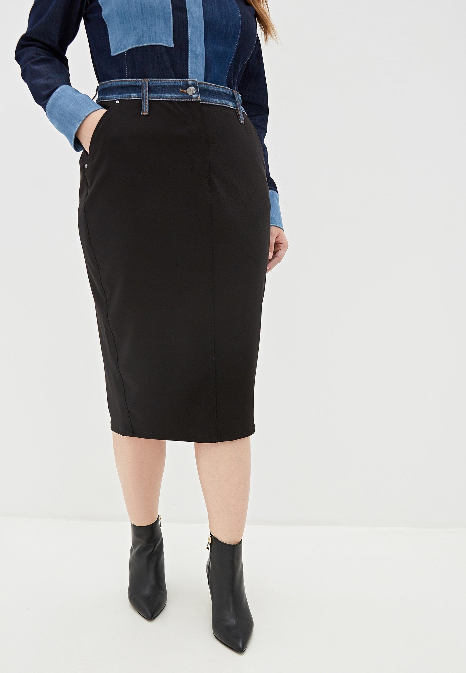 Узкая юбка Ashley Graham x Marina Rinaldi 5103029
