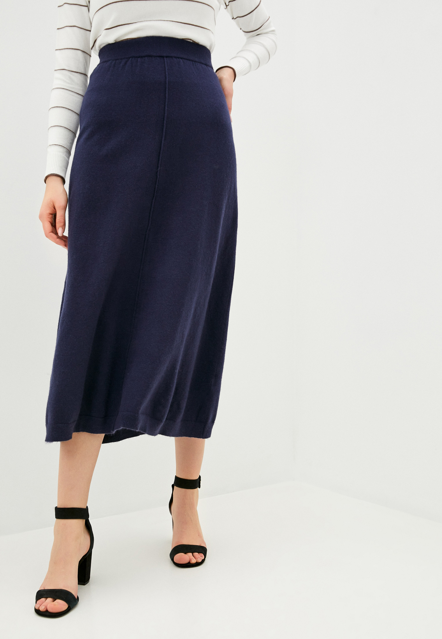 Широкая юбка Assuili ASF735B: изображение 1