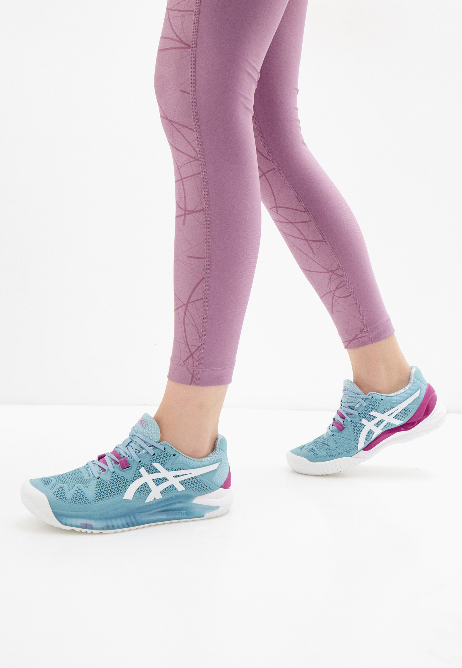 Женские кроссовки Asics (Асикс) 1042A072: изображение 6