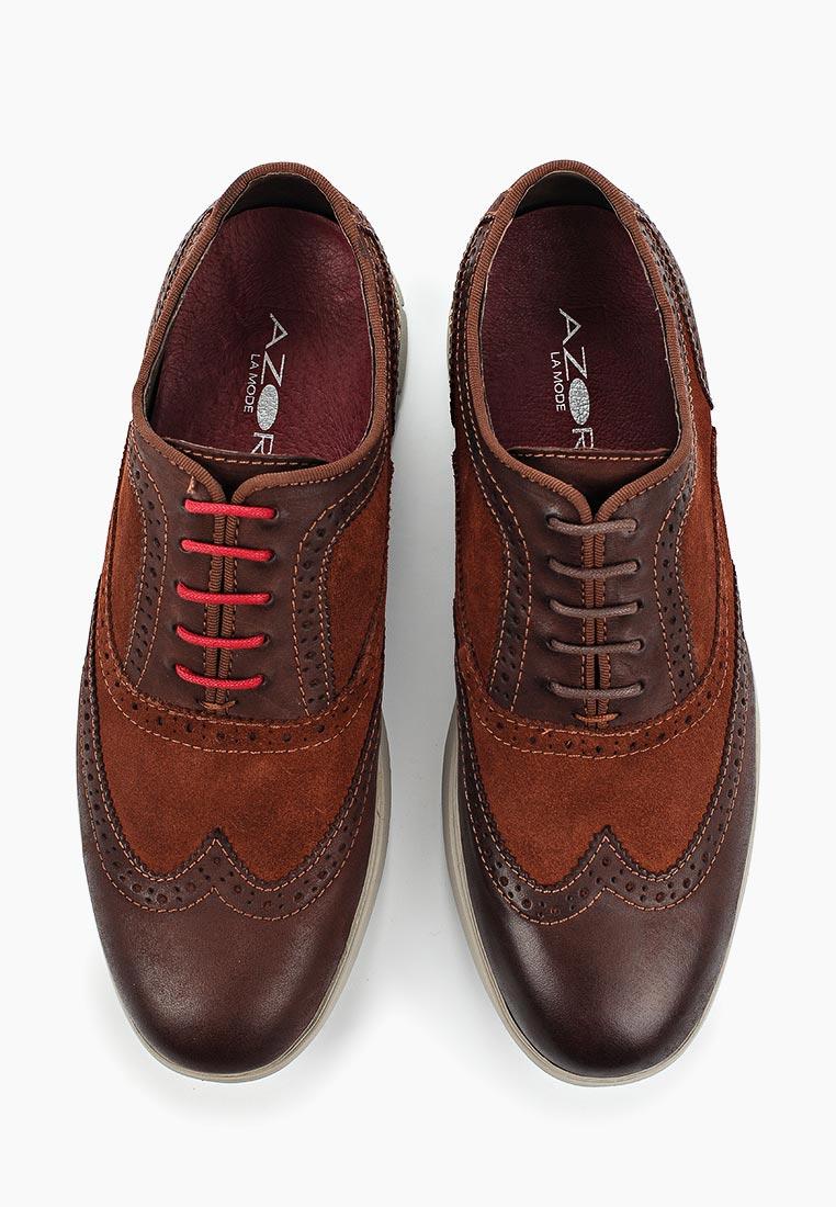 Мужские туфли AZOR ZM 3784 BERGAMO: изображение 9