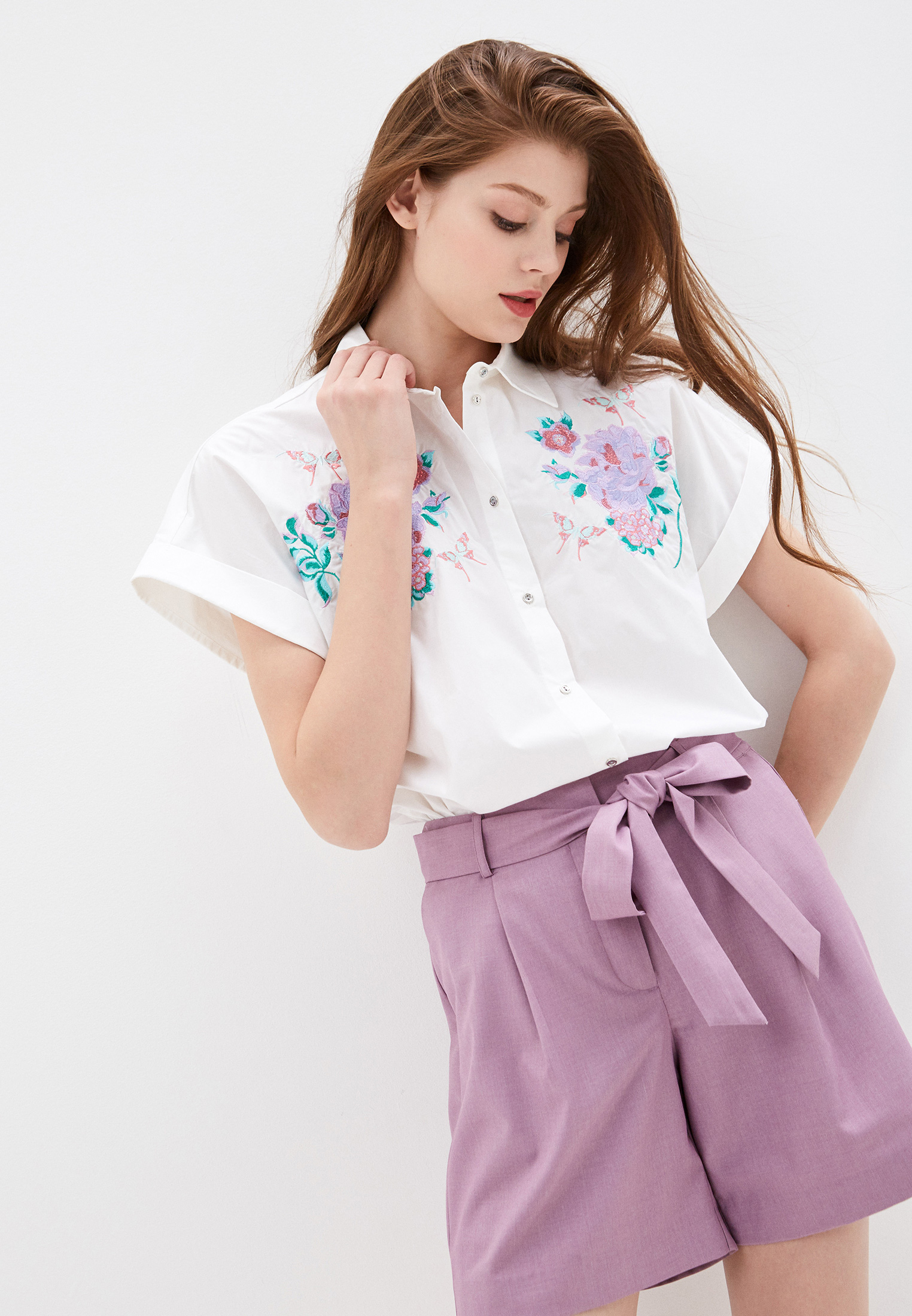 Рубашка с коротким рукавом Baon (Баон) B190005