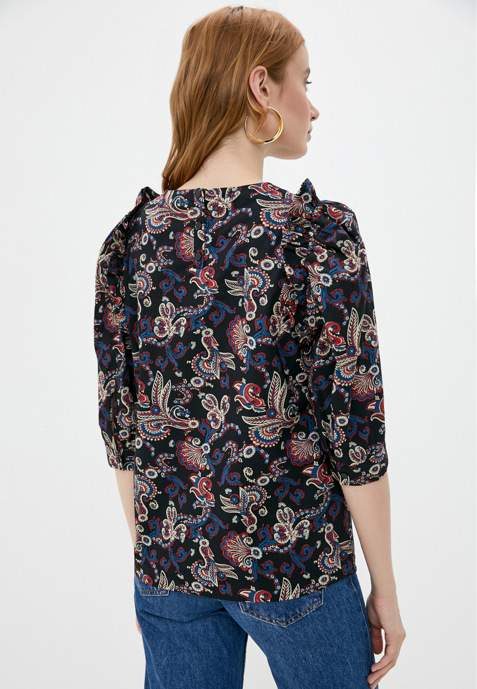 Блуза Ba&Sh 1E20RYM: изображение 3