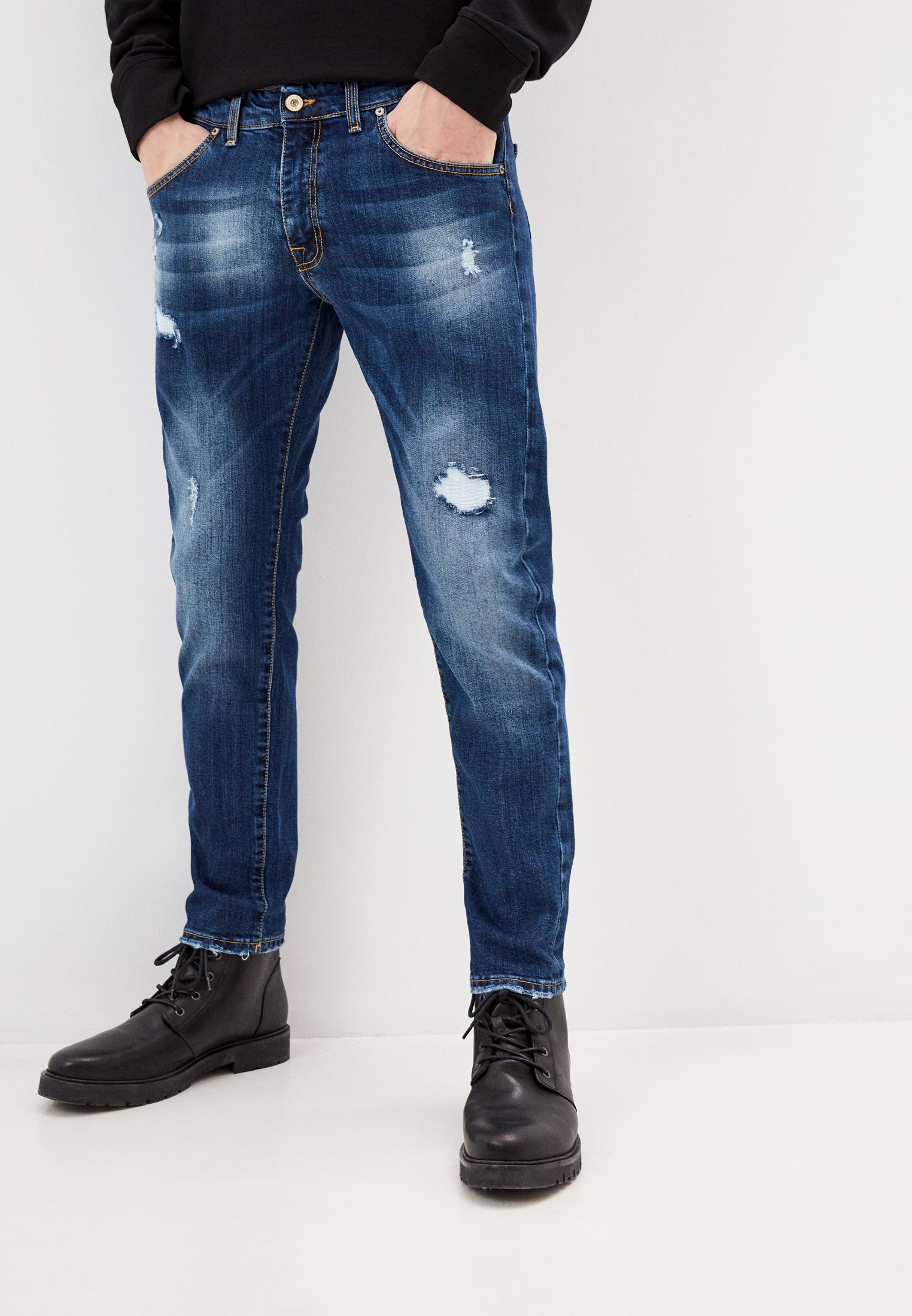Мужские зауженные джинсы Baldinini (Балдинини) AFMJ01D0025K4