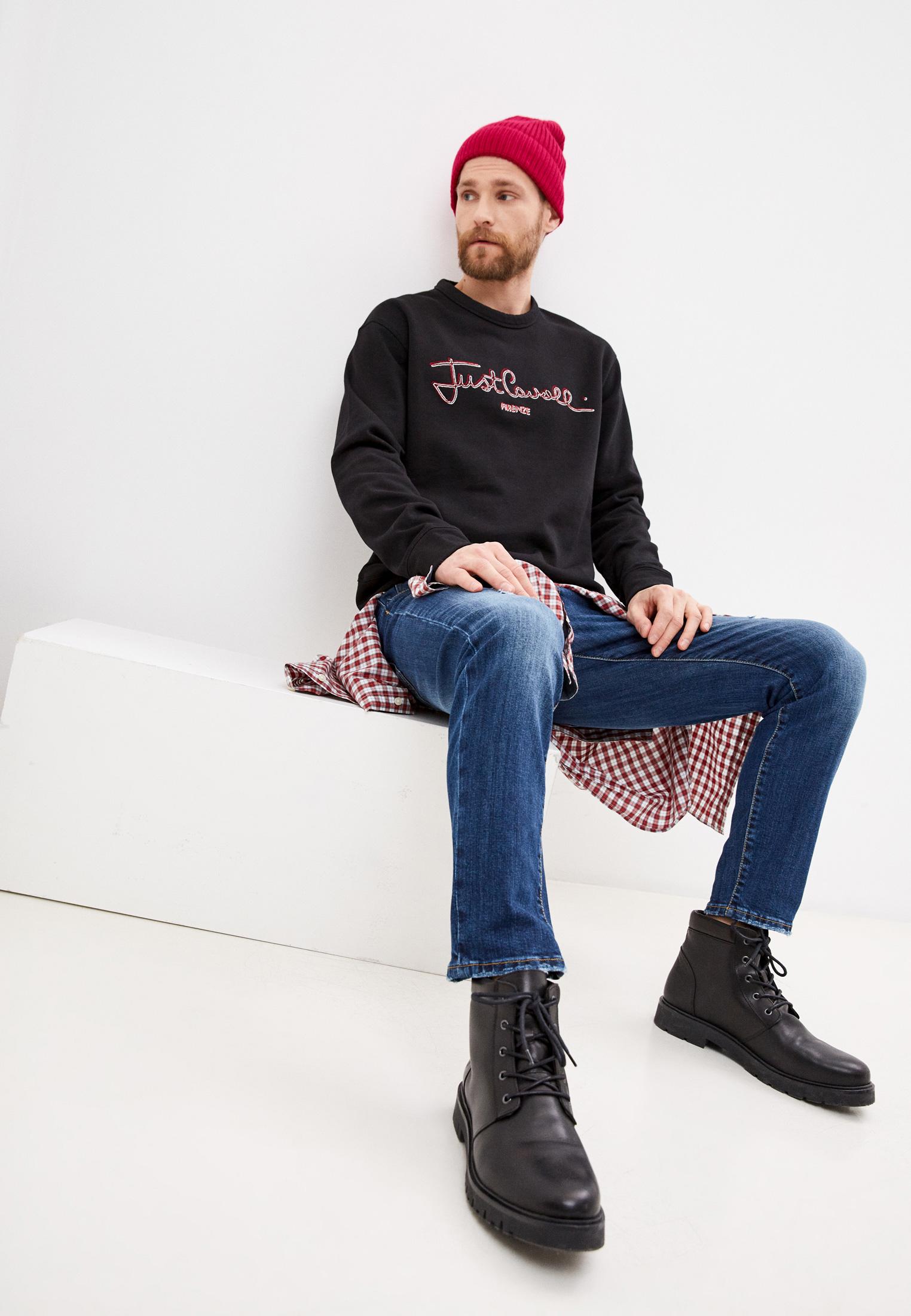 Мужские зауженные джинсы Baldinini (Балдинини) AFMJ01D0025K4: изображение 3