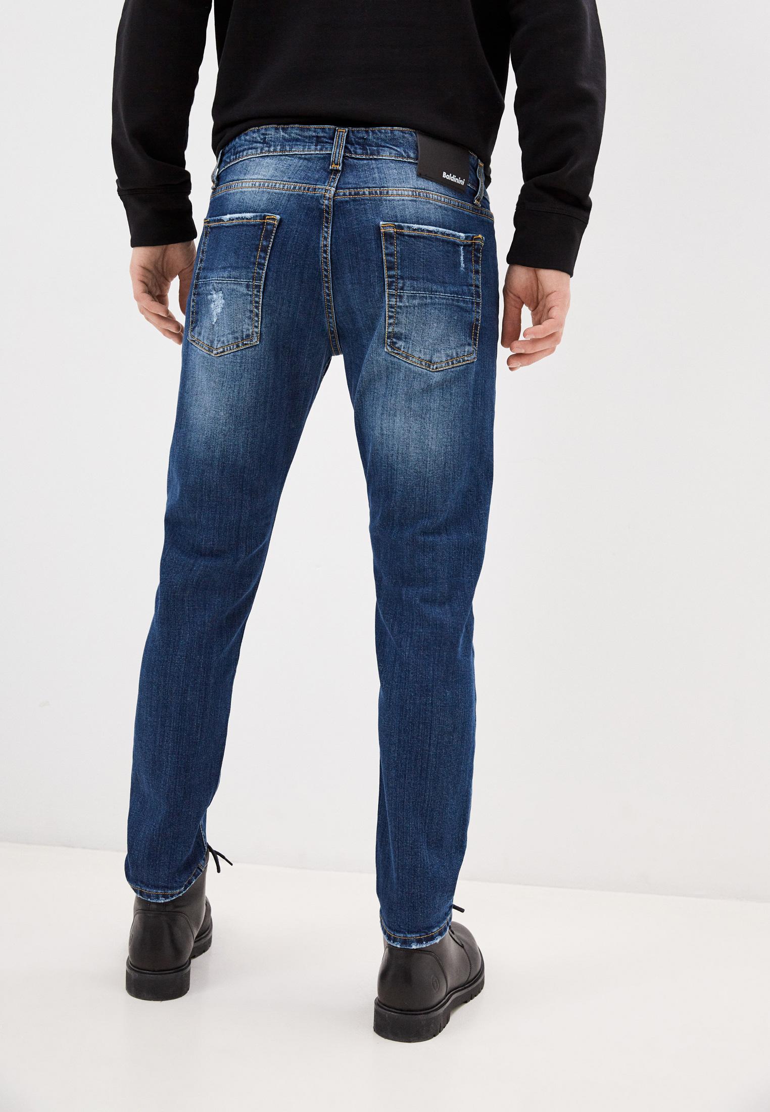 Мужские зауженные джинсы Baldinini (Балдинини) AFMJ01D0025K4: изображение 4