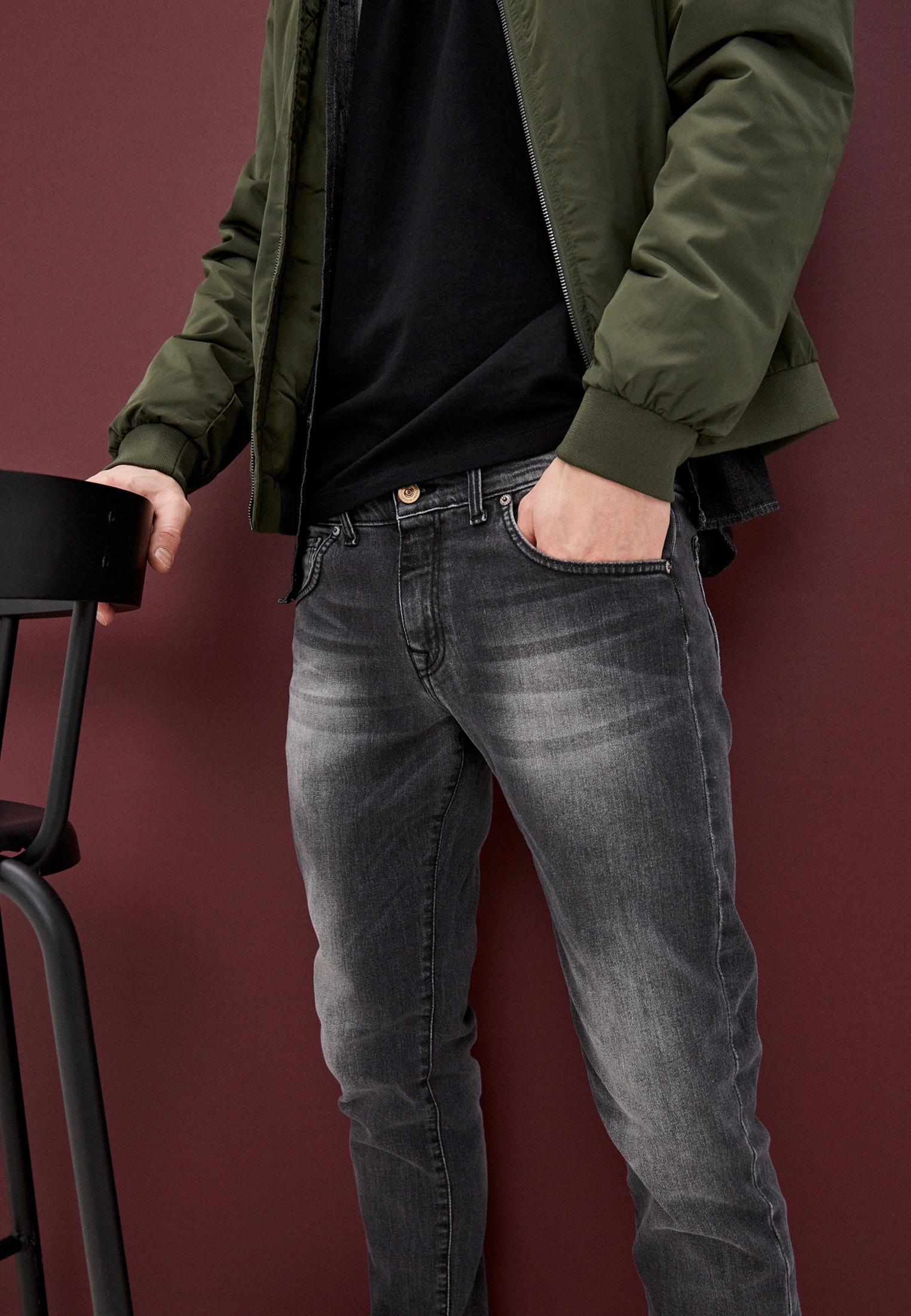 Мужские зауженные джинсы Baldinini (Балдинини) JJMJ01D0065G1: изображение 2
