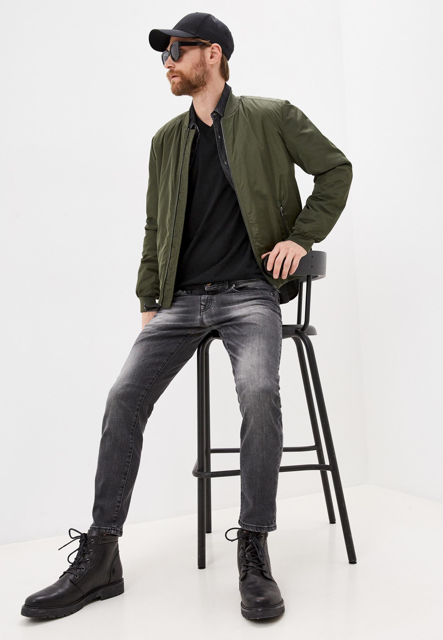 Мужские зауженные джинсы Baldinini (Балдинини) JJMJ01D0065G1: изображение 3