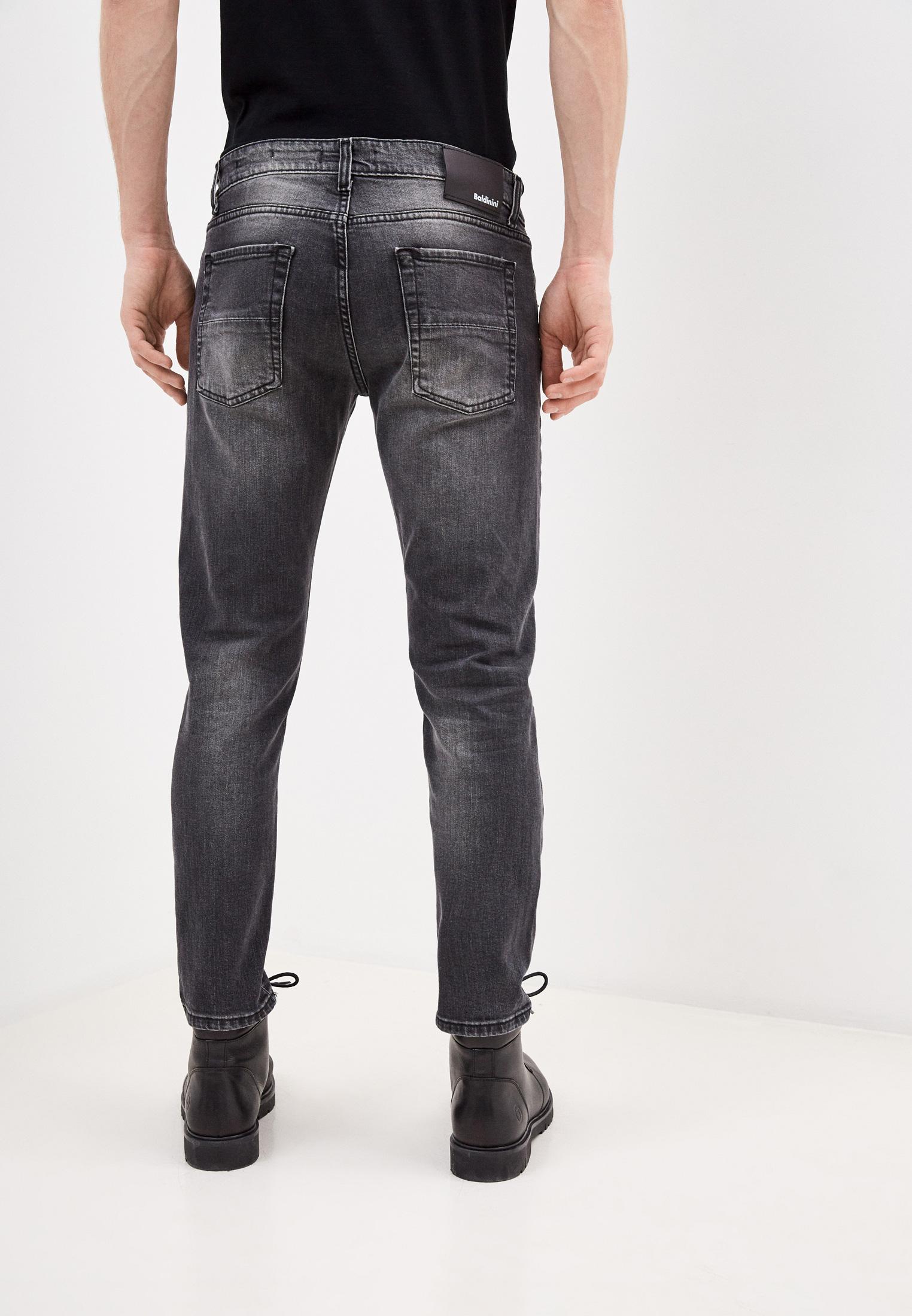 Мужские зауженные джинсы Baldinini (Балдинини) JJMJ01D0065G1: изображение 4