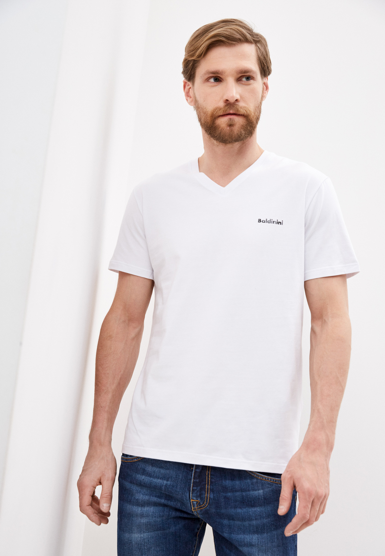 Мужская футболка Baldinini (Балдинини) JJMR17K004: изображение 1