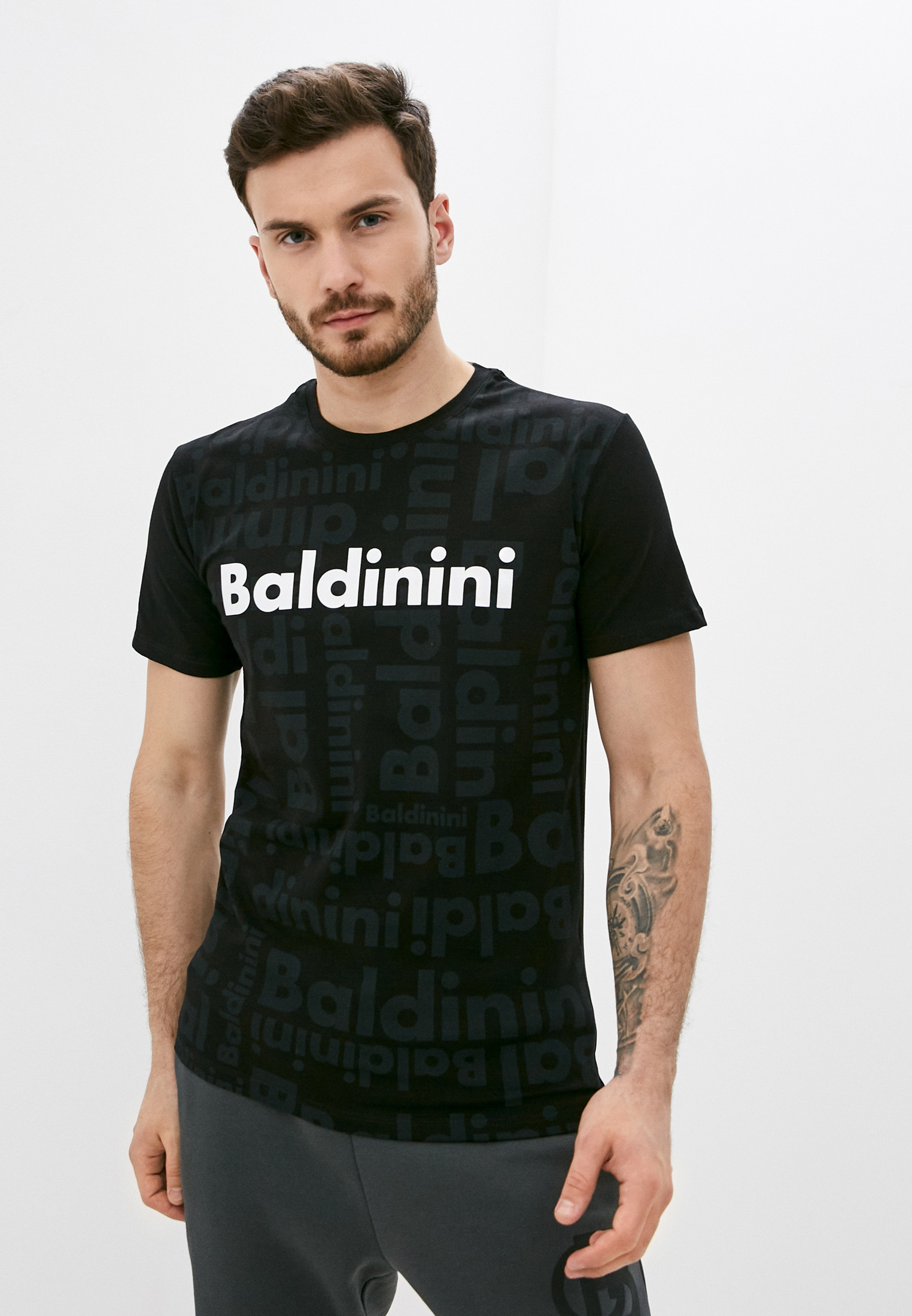 Мужская футболка Baldinini (Балдинини) TSU04999