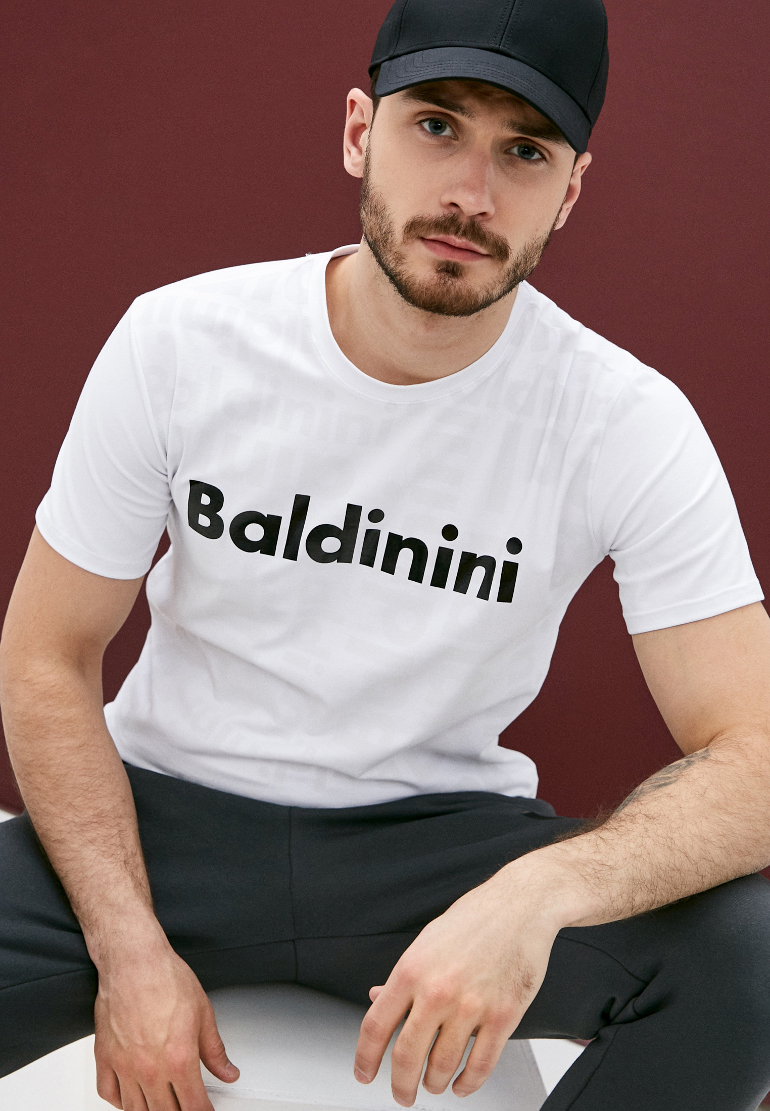 Мужская футболка Baldinini (Балдинини) TSU04111: изображение 2