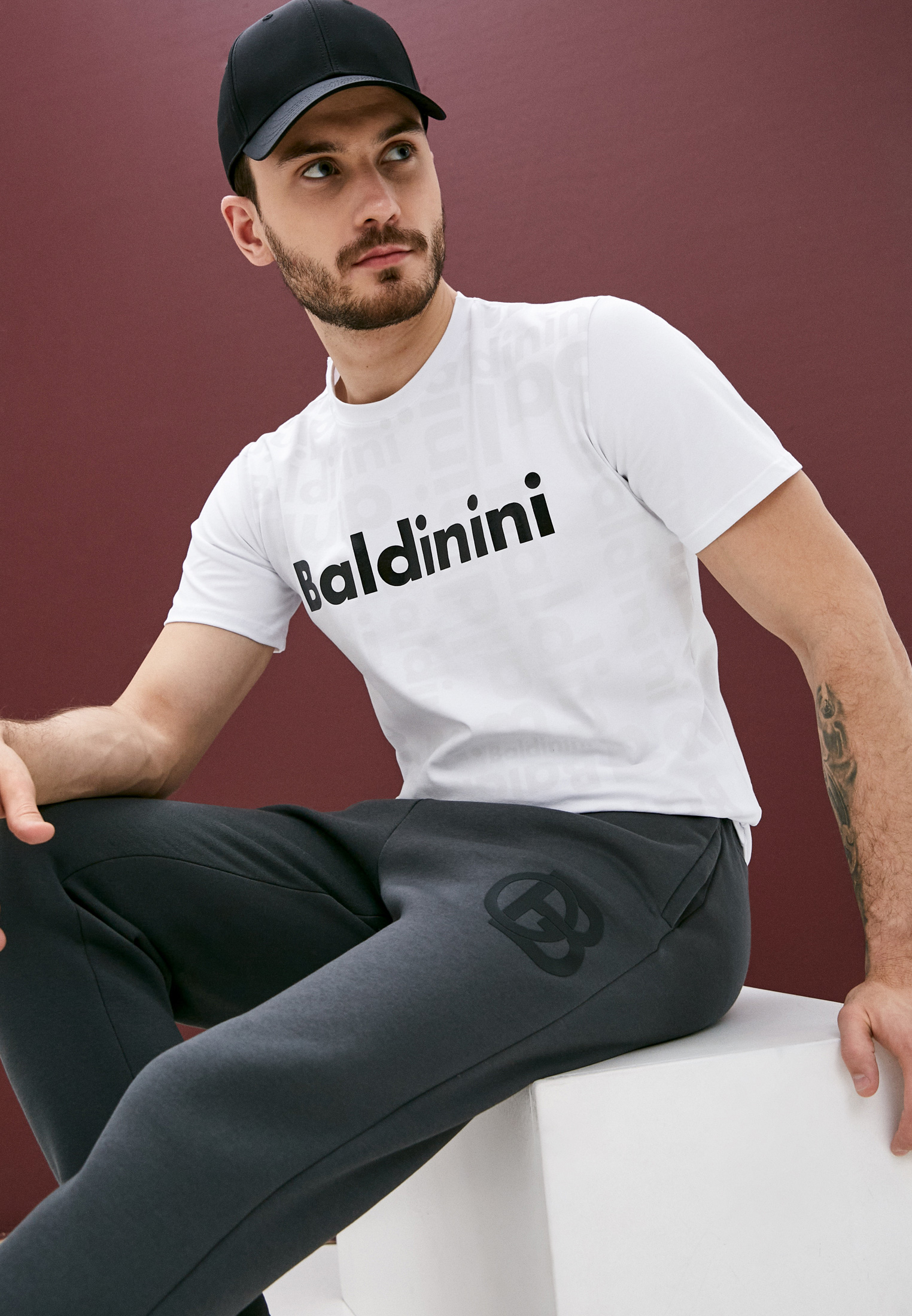 Мужские спортивные брюки Baldinini (Балдинини) PTU01: изображение 2