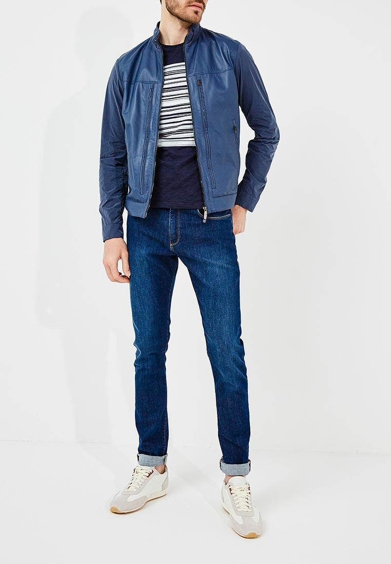 Кожаная куртка Baldinini (Балдинини) 880123FENI101010XXX: изображение 2