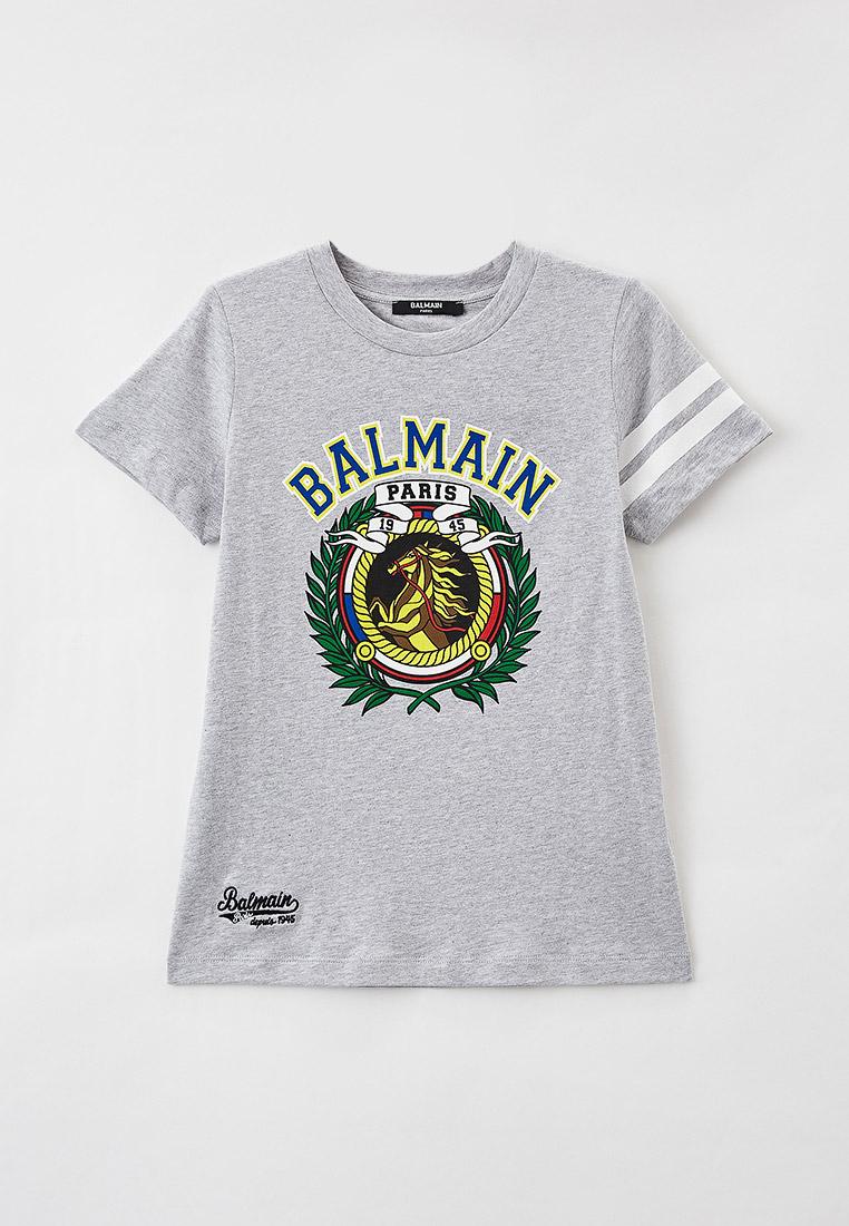 Футболка с коротким рукавом Balmain (Балмаин) 6O8540