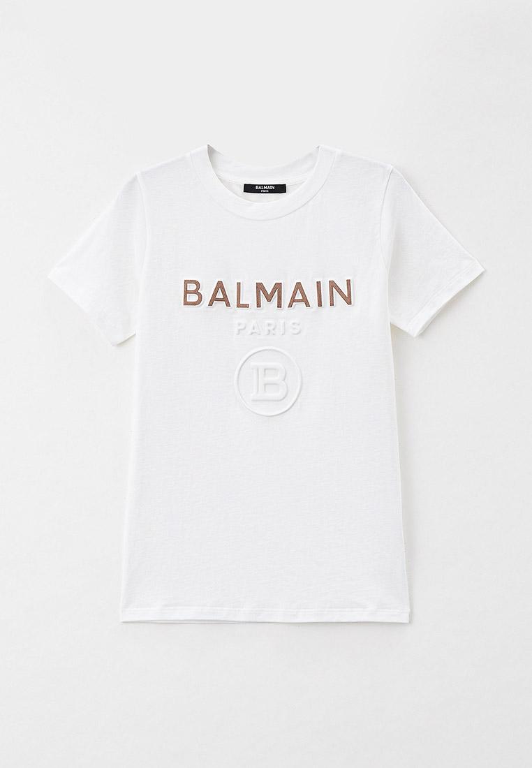 Футболка с коротким рукавом Balmain (Балмаин) 6O8521: изображение 1