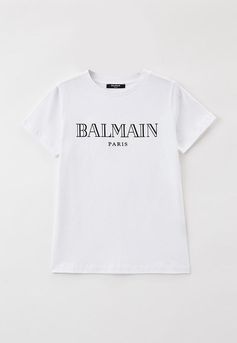 Футболка с коротким рукавом Balmain (Балмаин) 6M8721: изображение 1