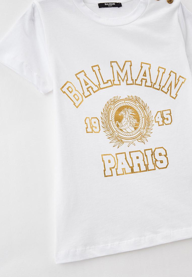 Футболка с коротким рукавом Balmain (Балмаин) 6O8131: изображение 3