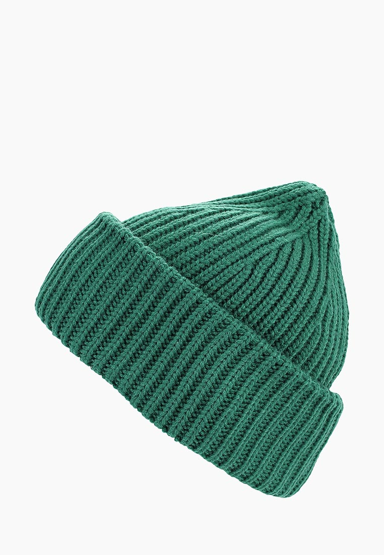 4b2b9da3e7c10 Шапка женская Befree (Бифри) 1836018027 цвет зеленый купить за 595 руб.