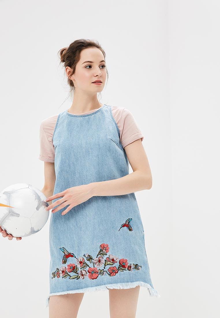 Платье-мини Befree (Бифри) 1831127524