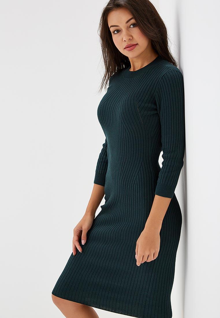 cba60d76066 Зеленые вязаные платья - купить теплое платье в интернет магазине