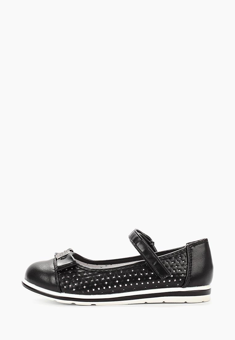 Туфли для девочек Berten MXA_778828_black