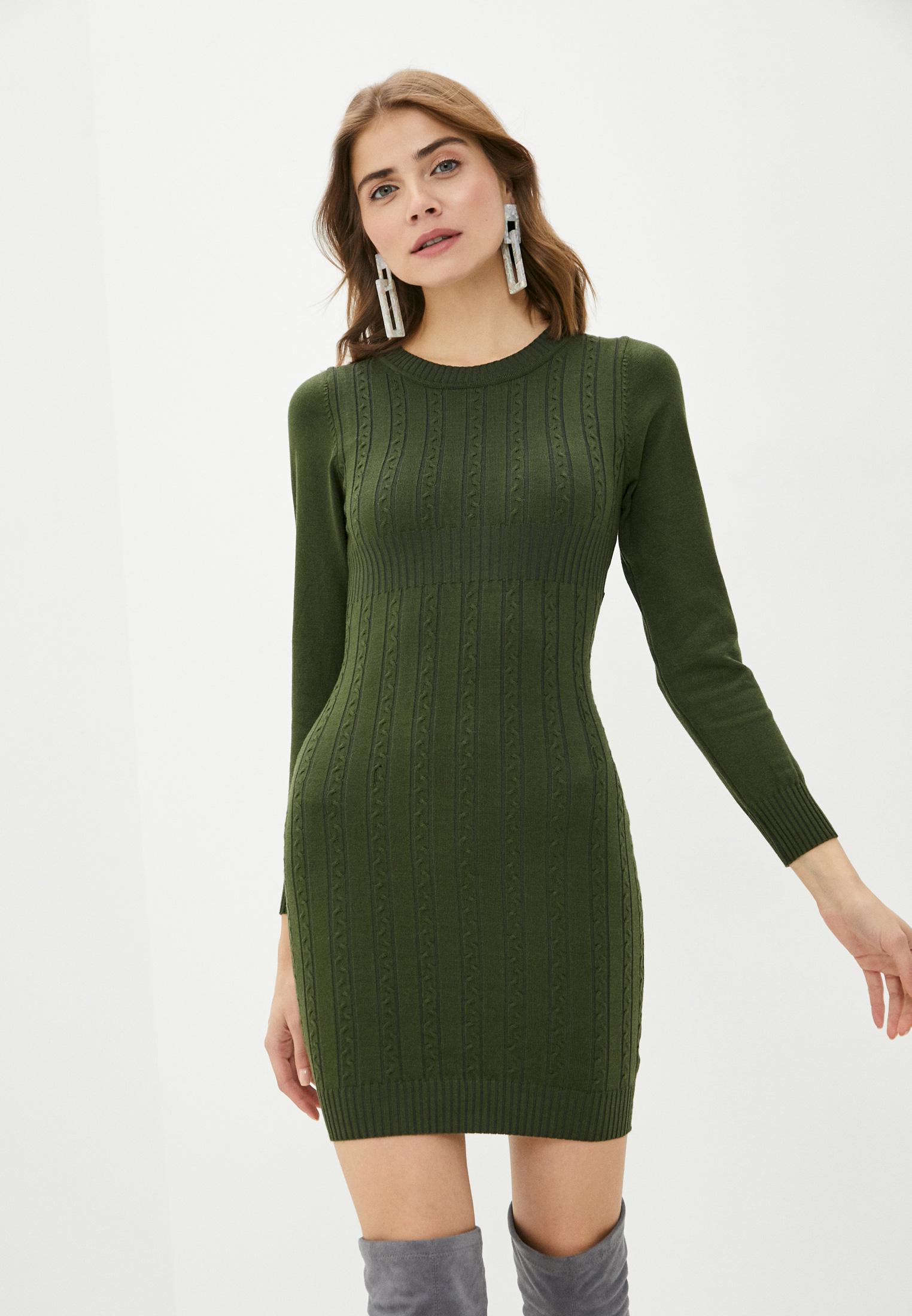 Вязаное платье Bigtora D561: изображение 1