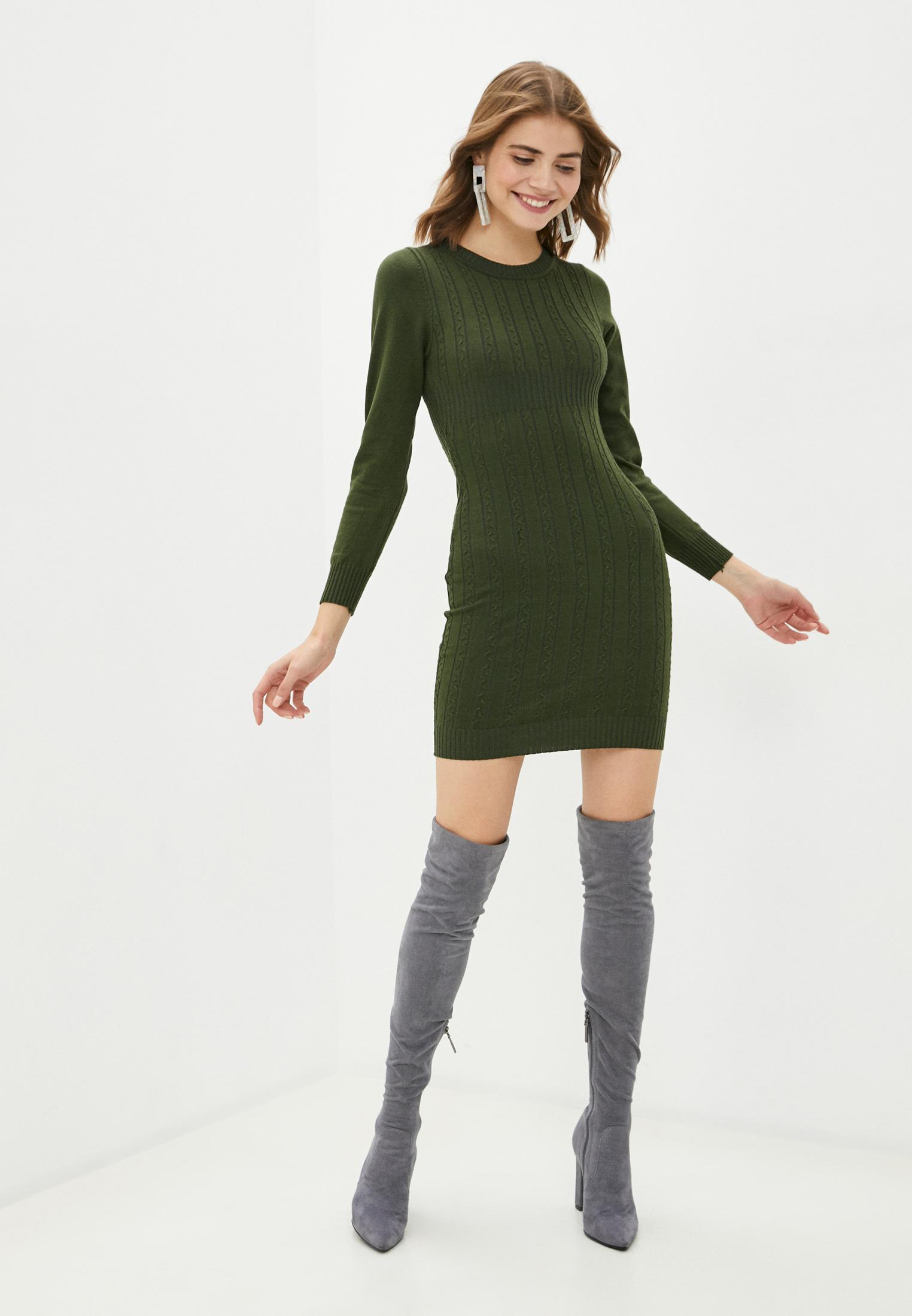 Вязаное платье Bigtora D561: изображение 2
