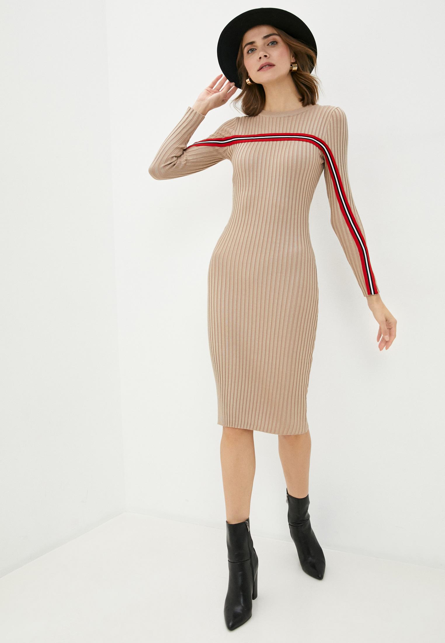 Вязаное платье Bigtora D855