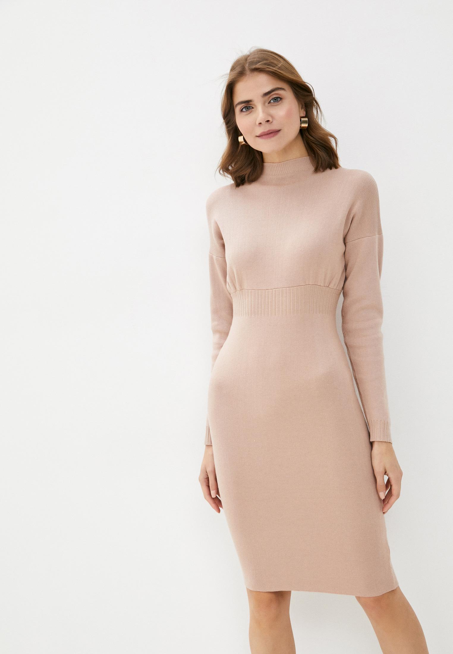 Вязаное платье Bigtora D8680