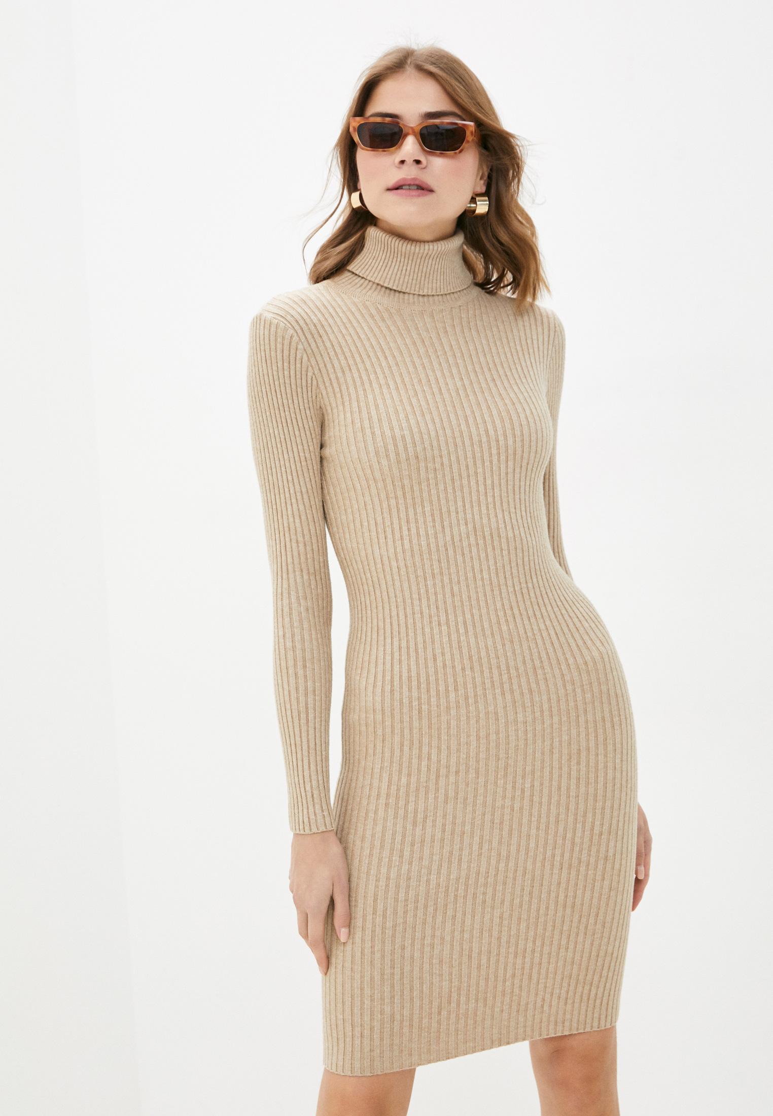 Вязаное платье Bigtora D8807: изображение 1