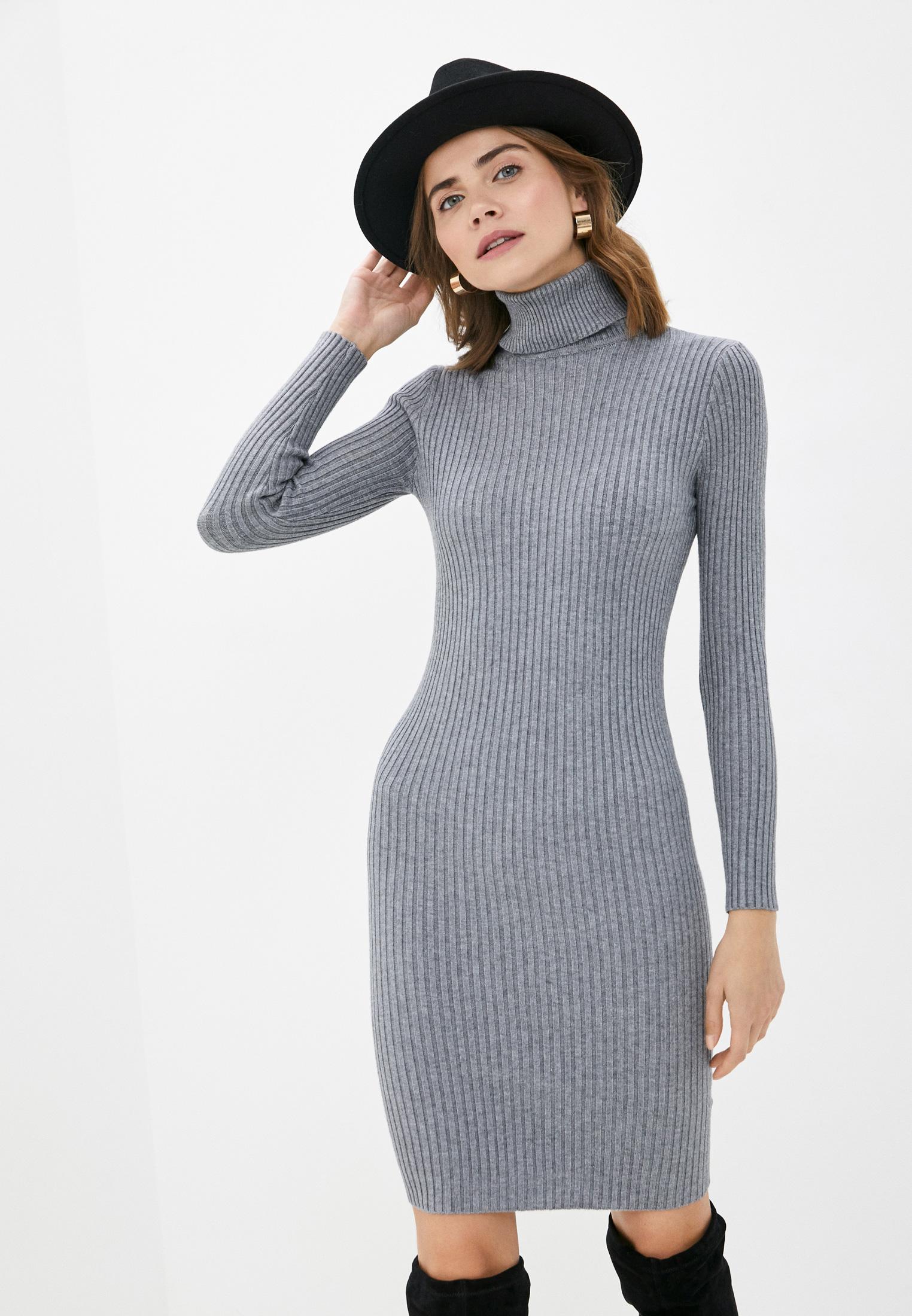 Вязаное платье Bigtora D8807