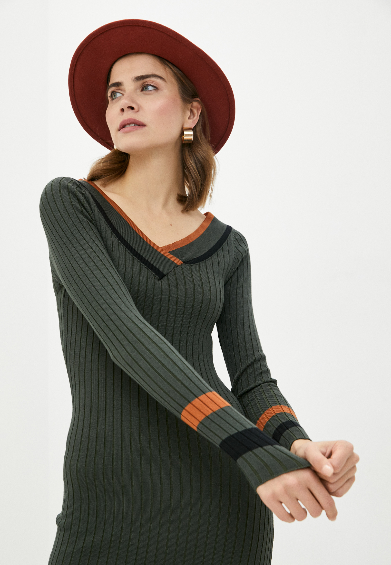 Вязаное платье Bigtora (Бигтора) D8888