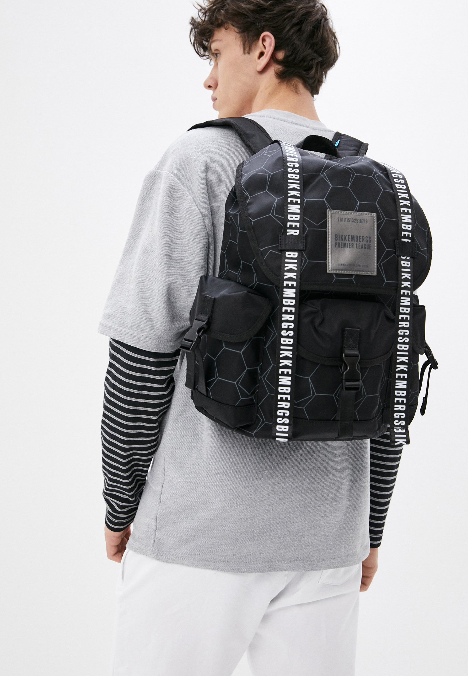 Городской рюкзак Bikkembergs E2BPME1K0025999: изображение 7