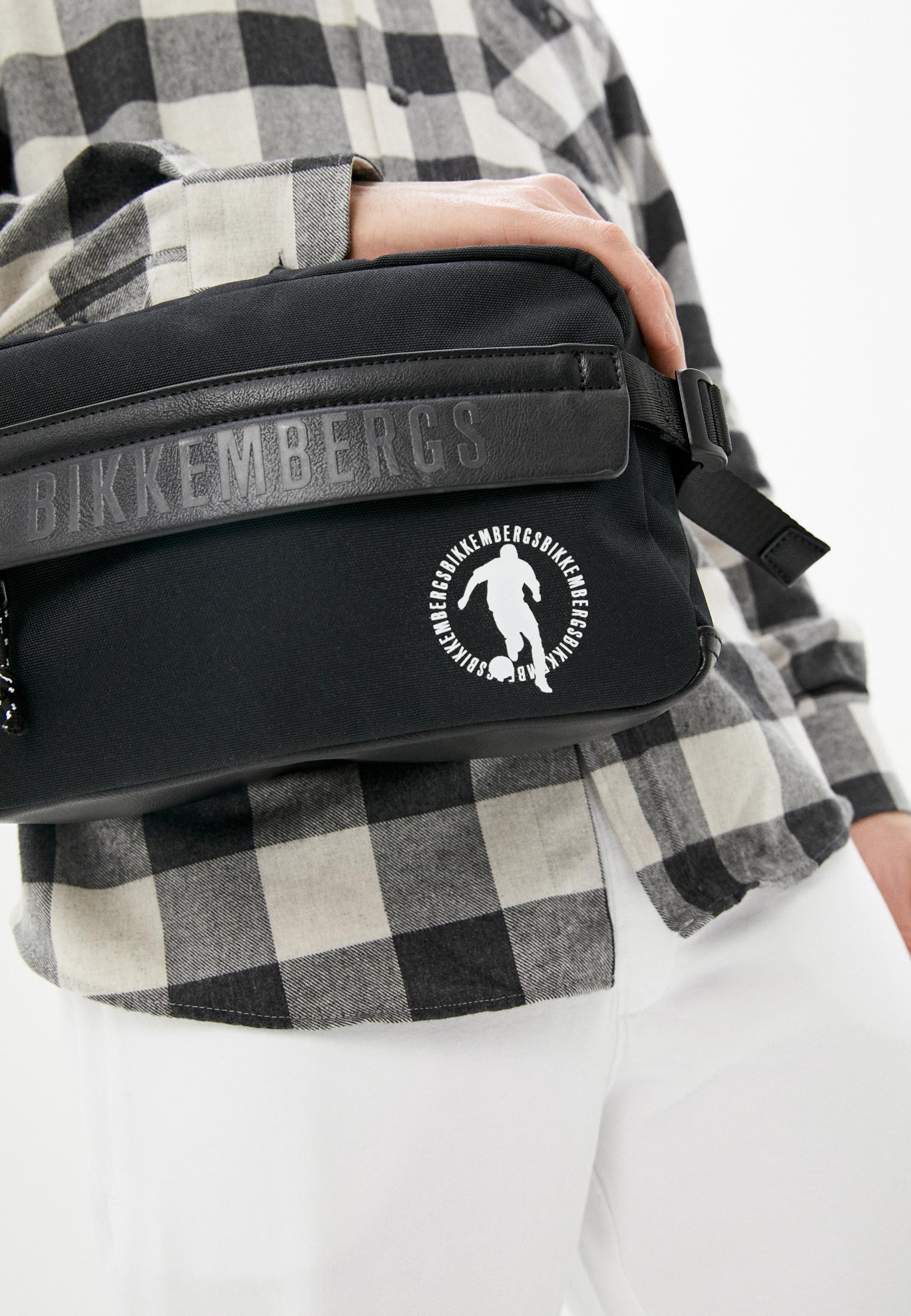 Поясная сумка Bikkembergs (Биккембергс) E2BPME1M0042999: изображение 6
