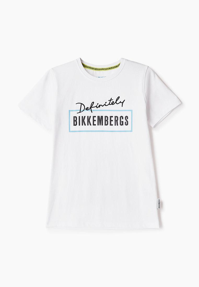 Футболка с коротким рукавом Bikkembergs (Биккембергс) BK0211