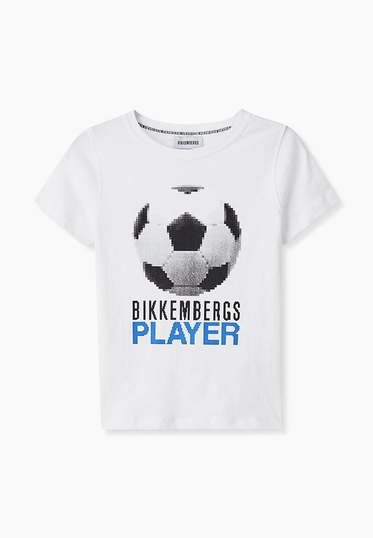 Футболка с коротким рукавом Bikkembergs (Биккембергс) BK0237
